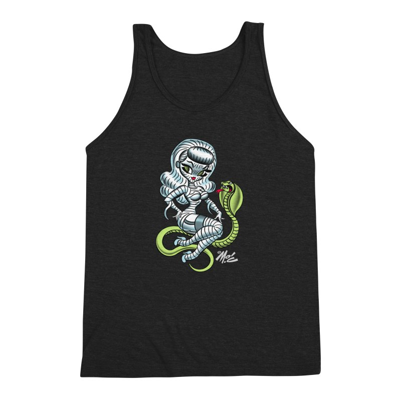 Miss Mummy! Men's Triblend Tank by Mitch O'Connell