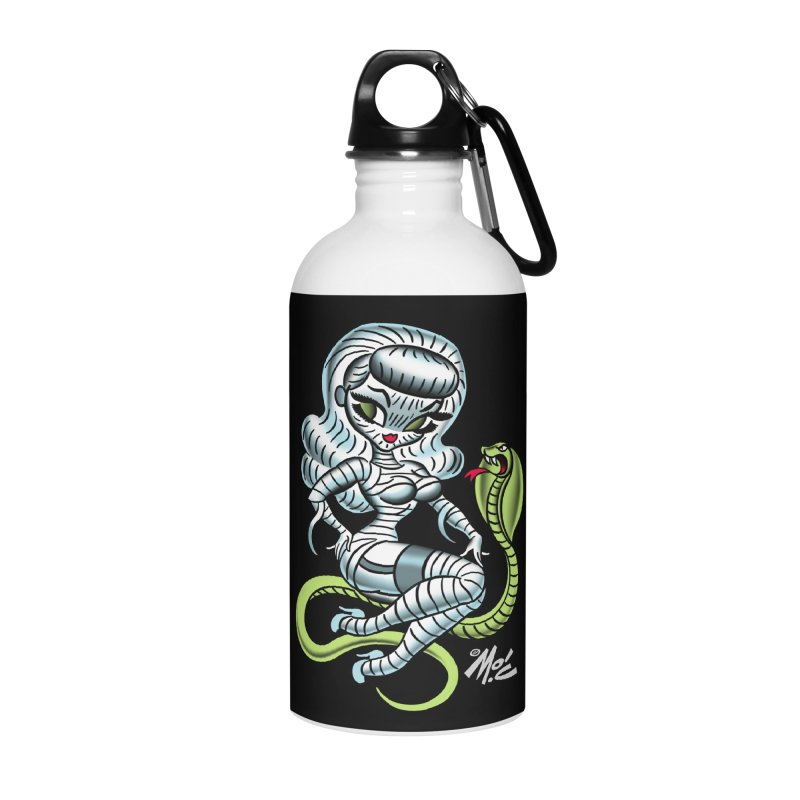 Miss Mummy! Accessories Water Bottle by Mitch O'Connell