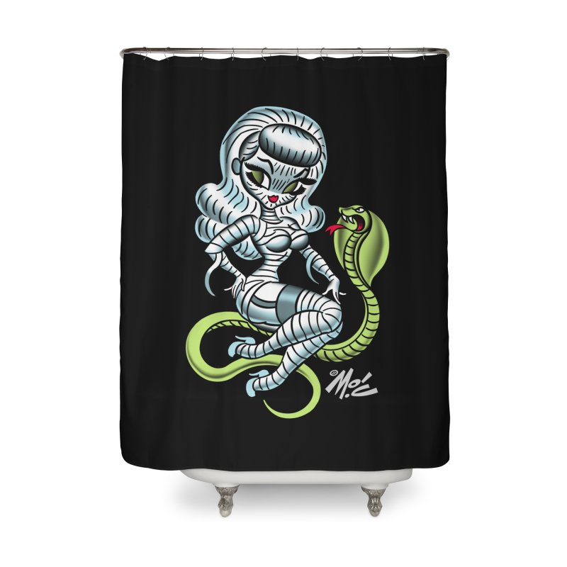 Miss Mummy! Home Shower Curtain by Mitch O'Connell