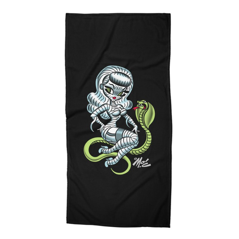 Miss Mummy! Accessories Beach Towel by Mitch O'Connell