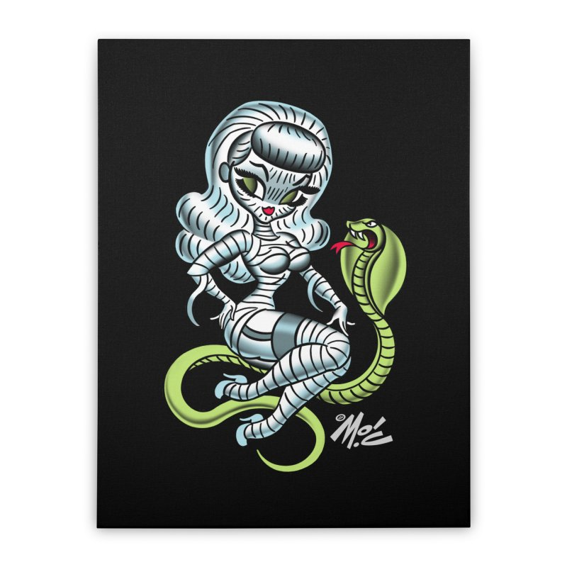 Miss Mummy! Home Stretched Canvas by Mitch O'Connell
