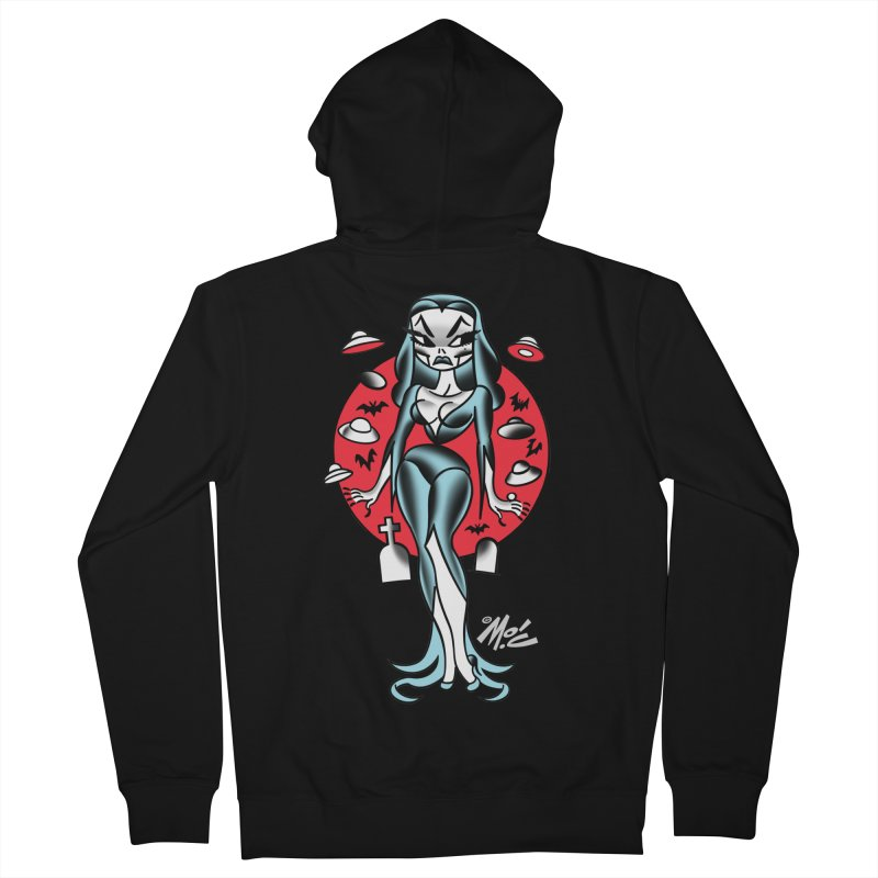 Vampcutie! Men's Zip-Up Hoody by Mitch O'Connell