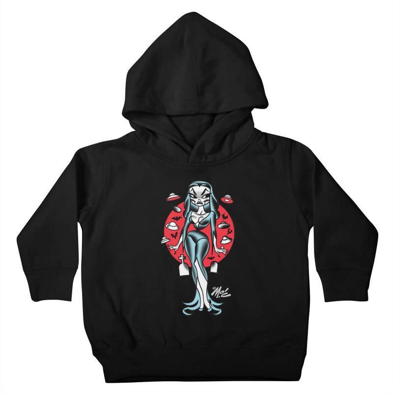 Vampcutie! Kids Toddler Pullover Hoody by Mitch O'Connell