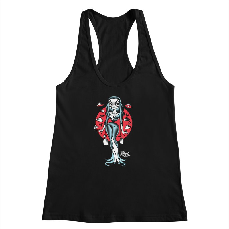 Vampcutie! Women's Racerback Tank by Mitch O'Connell