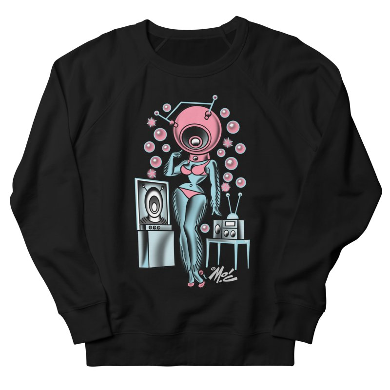 Robotcutie! Men's Sweatshirt by Mitch O'Connell