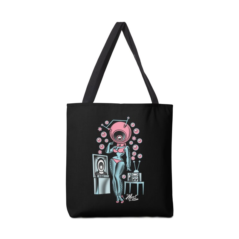 Robotcutie! Accessories Tote Bag Bag by Mitch O'Connell