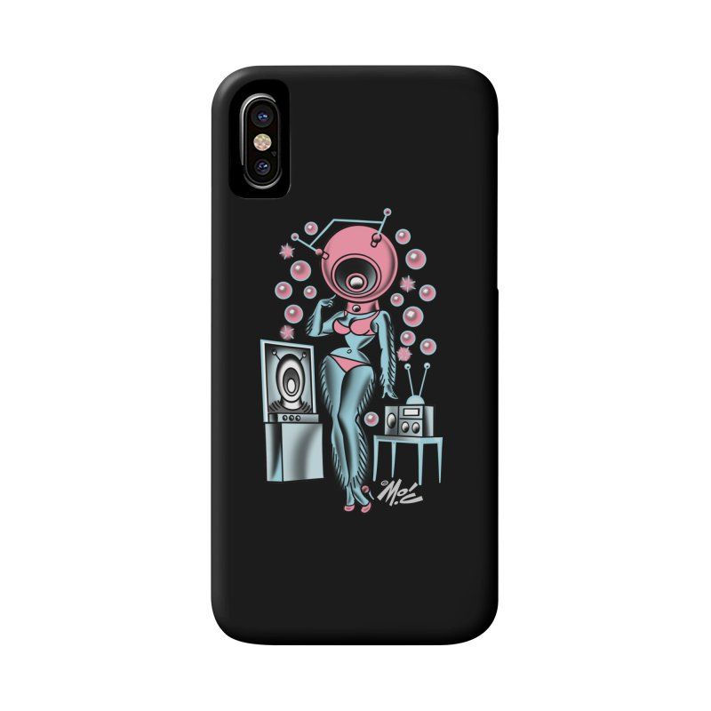 Robotcutie! Accessories Phone Case by Mitch O'Connell