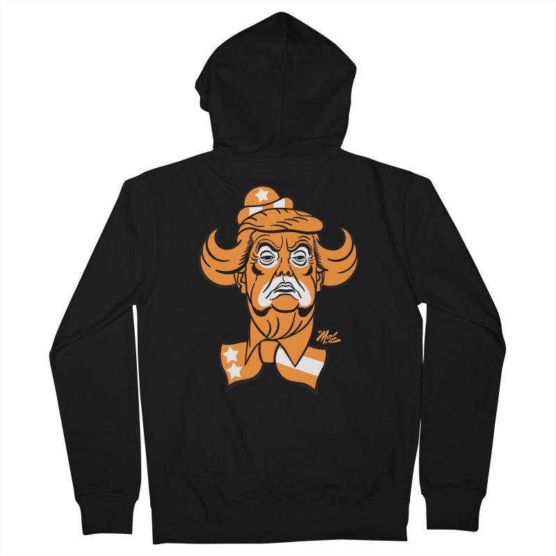Trump. SAD! Men's Zip-Up Hoody by Mitch O'Connell