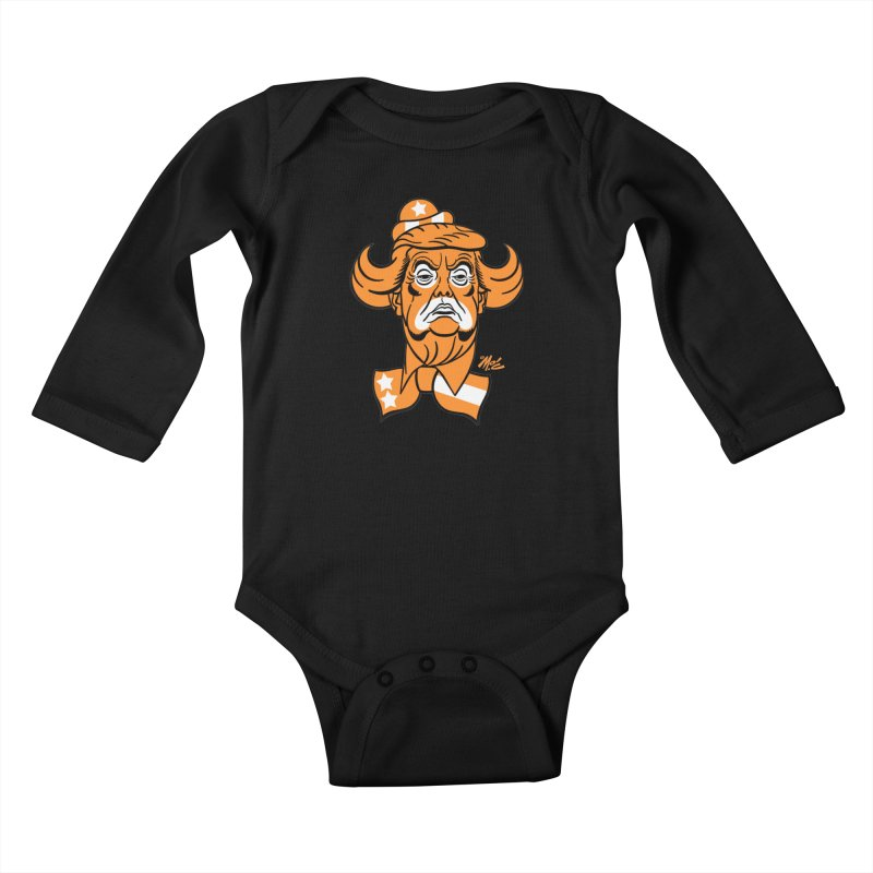 Trump. SAD! Kids Baby Longsleeve Bodysuit by Mitch O'Connell