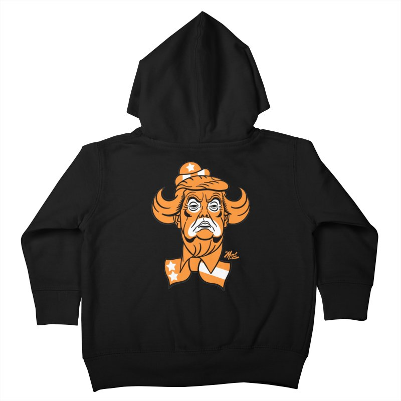 Trump. SAD! Kids Toddler Zip-Up Hoody by Mitch O'Connell