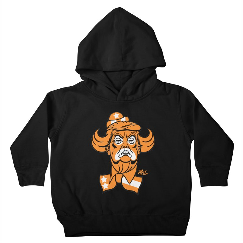 Trump. SAD! Kids Toddler Pullover Hoody by Mitch O'Connell