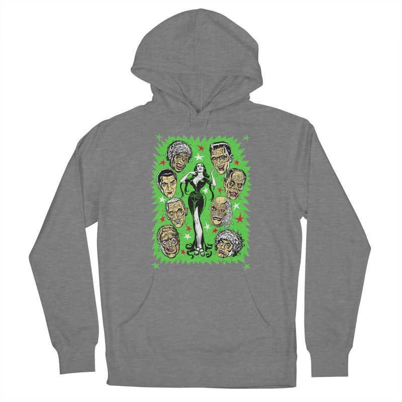 Mystery Dates! Men's French Terry Pullover Hoody by Mitch O'Connell