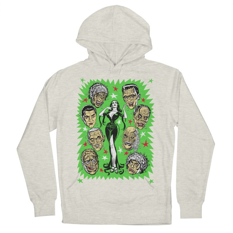 Mystery Dates! Women's French Terry Pullover Hoody by Mitch O'Connell