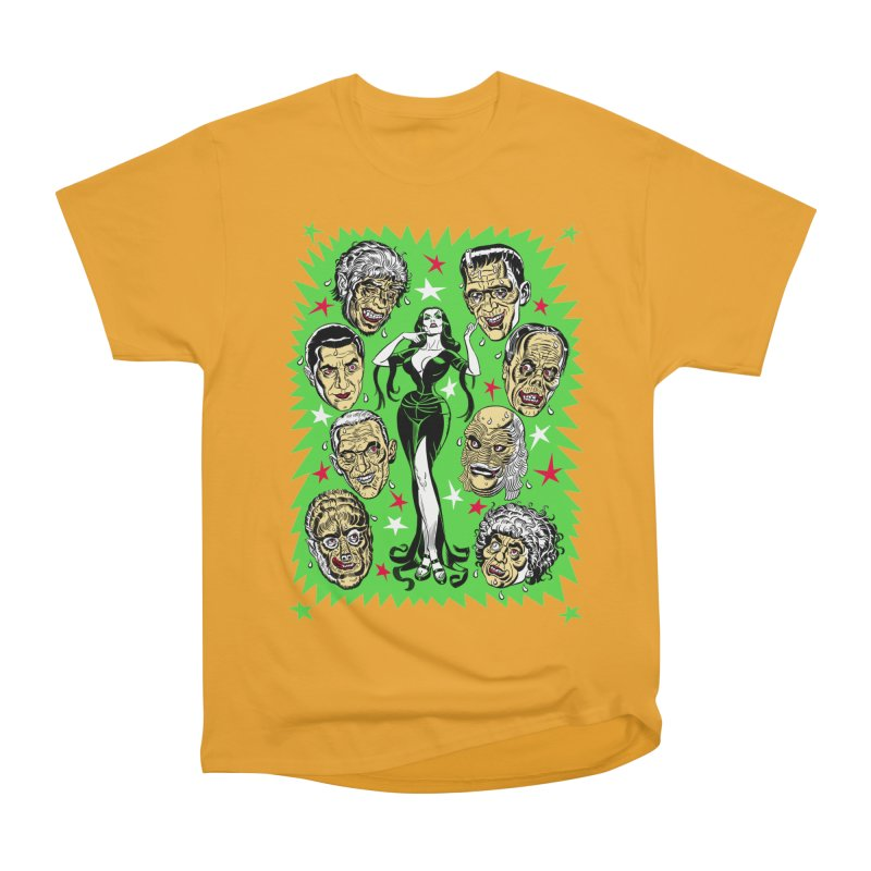 Mystery Dates! Men's Heavyweight T-Shirt by Mitch O'Connell
