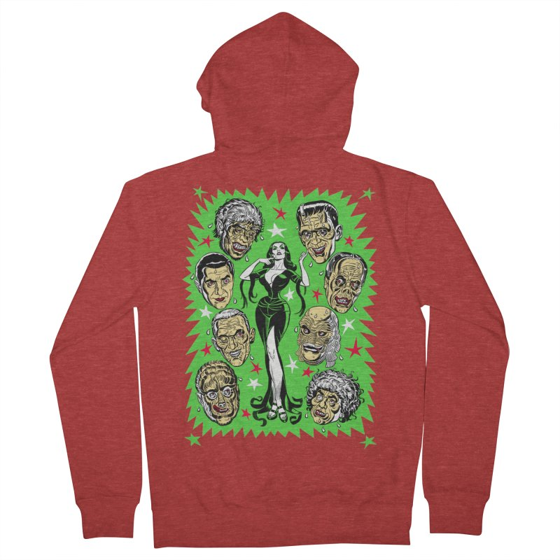 Mystery Dates! Men's Zip-Up Hoody by Mitch O'Connell