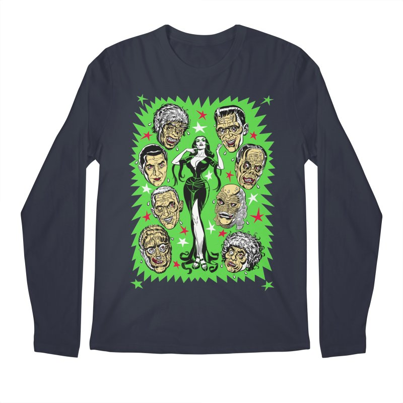 Mystery Dates! Men's Regular Longsleeve T-Shirt by Mitch O'Connell