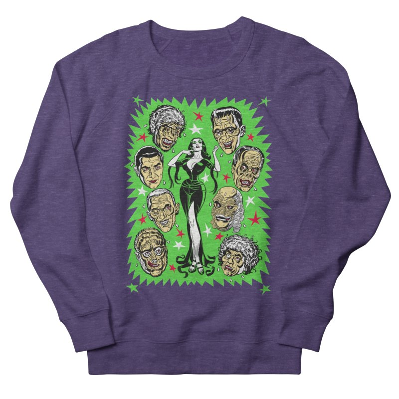 Mystery Dates! Women's French Terry Sweatshirt by Mitch O'Connell