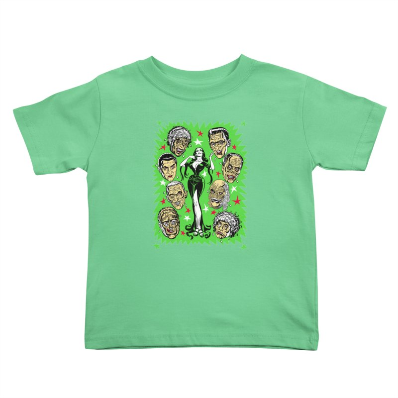 Mystery Dates! Kids Toddler T-Shirt by Mitch O'Connell