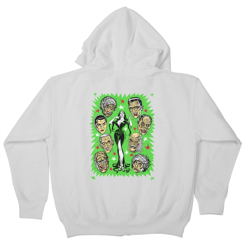 Mystery Dates! Kids Zip-Up Hoody by Mitch O'Connell