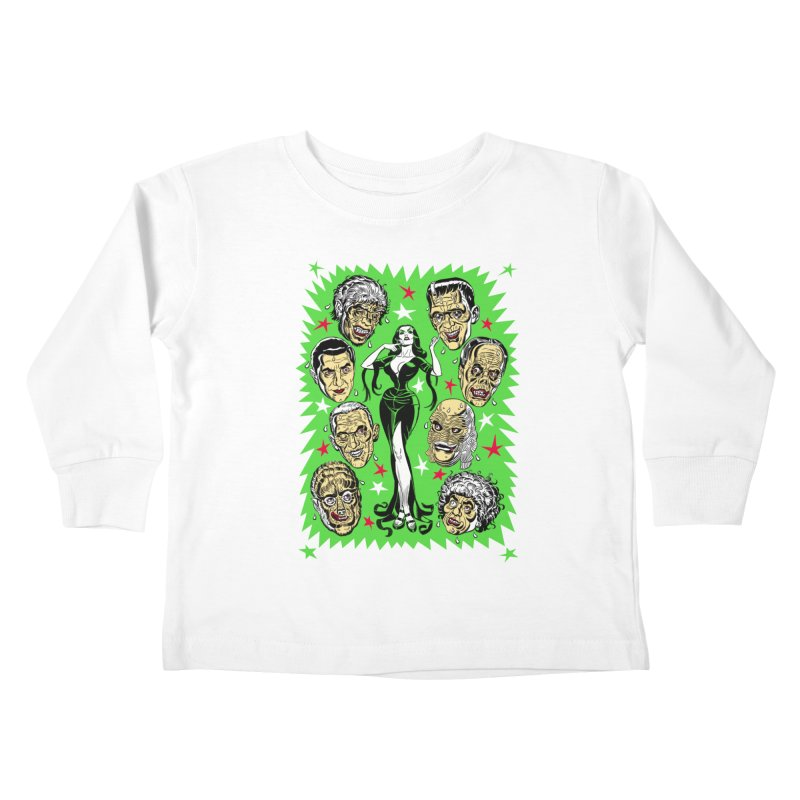 Mystery Dates! Kids Toddler Longsleeve T-Shirt by Mitch O'Connell
