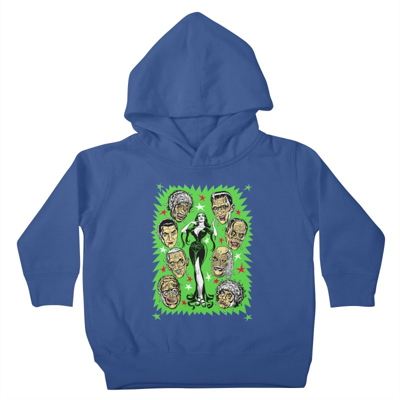 Mystery Dates! Kids Toddler Pullover Hoody by Mitch O'Connell