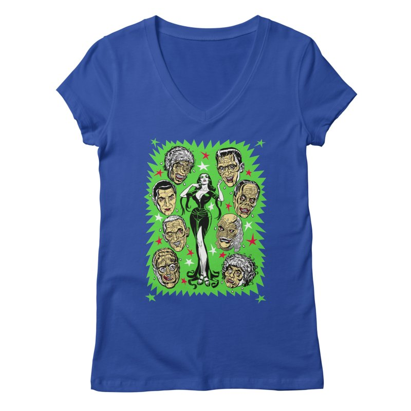 Mystery Dates! Women's V-Neck by Mitch O'Connell