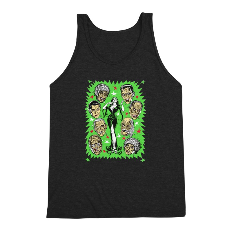 Mystery Dates! Men's Triblend Tank by Mitch O'Connell