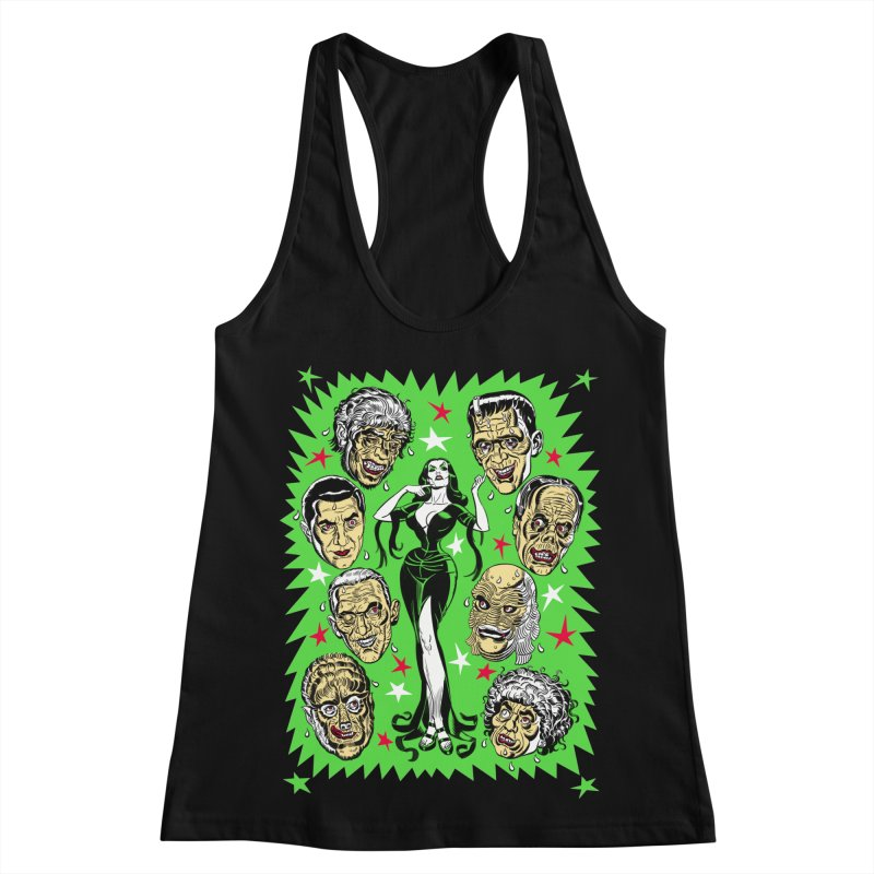 Mystery Dates! Women's Racerback Tank by Mitch O'Connell
