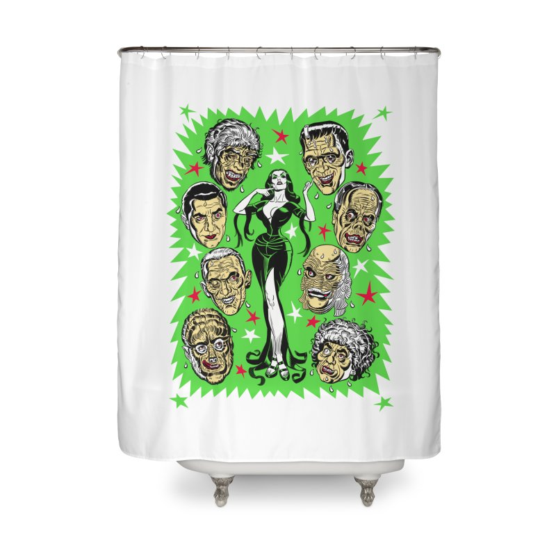 Mystery Dates! Home Shower Curtain by Mitch O'Connell
