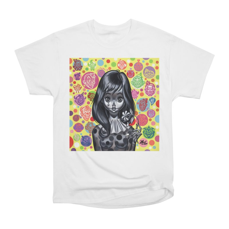 Clown Girl Women's Classic Unisex T-Shirt by Mitch O'Connell