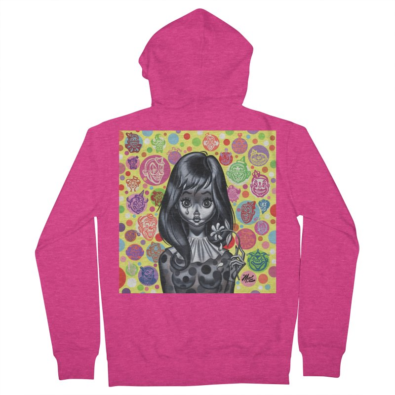 Clown Girl Women's Zip-Up Hoody by Mitch O'Connell