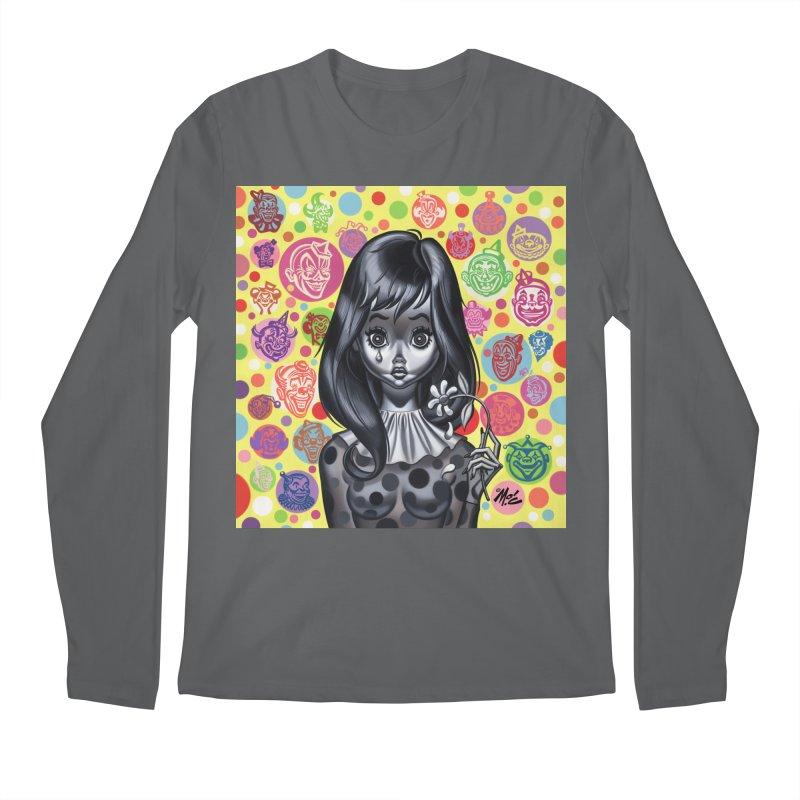 Clown Girl Men's Longsleeve T-Shirt by Mitch O'Connell