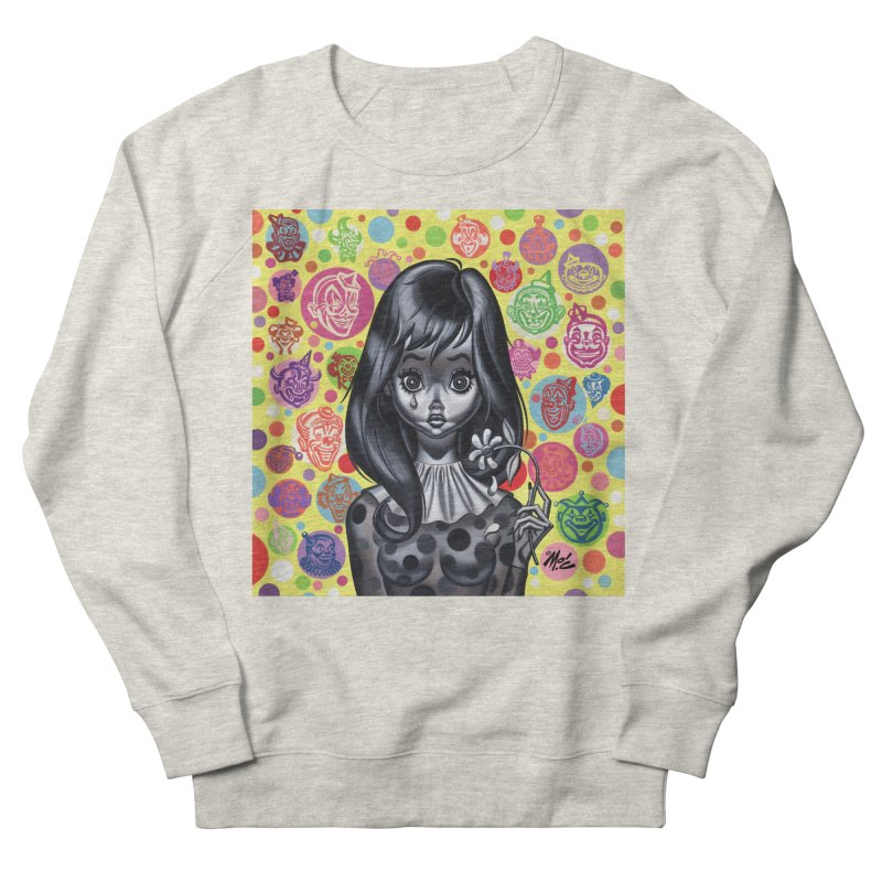 Clown Girl Men's Sweatshirt by Mitch O'Connell