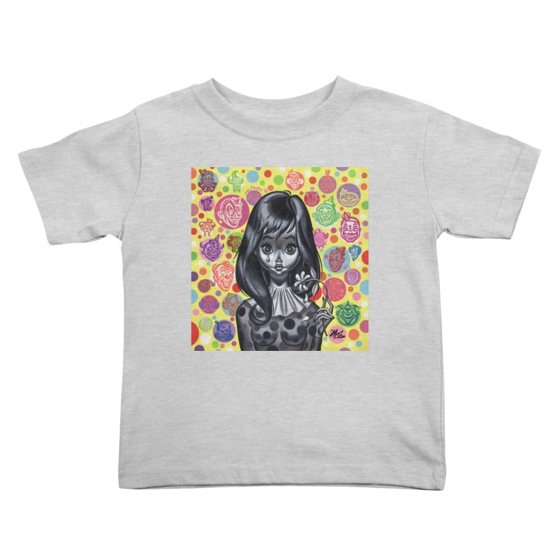Clown Girl Kids Toddler T-Shirt by Mitch O'Connell