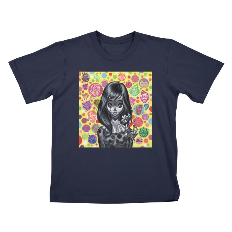 Clown Girl Kids T-Shirt by Mitch O'Connell