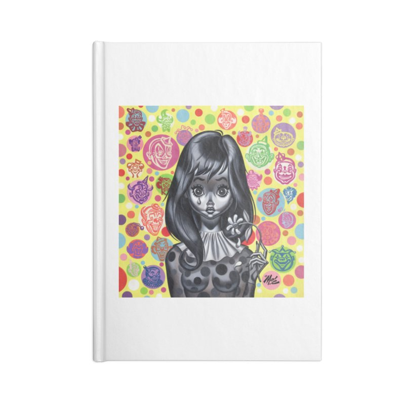 Clown Girl Accessories Notebook by Mitch O'Connell
