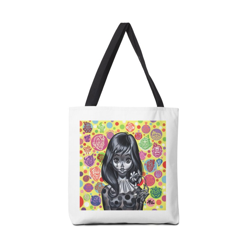 Clown Girl Accessories Bag by Mitch O'Connell