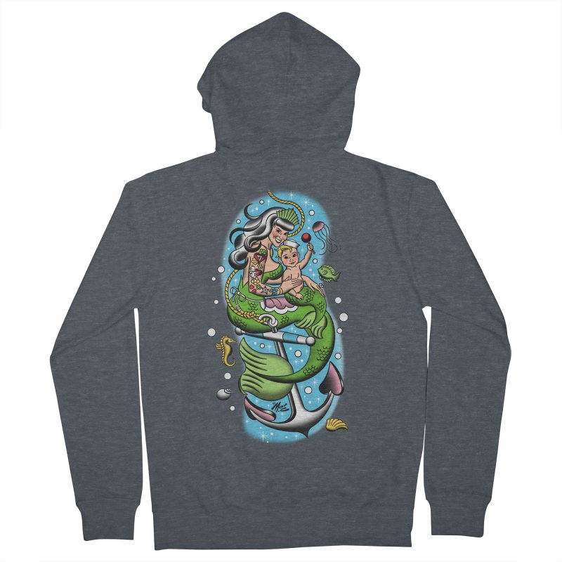 Sailor Jerry Men's Zip-Up Hoody by Mitch O'Connell