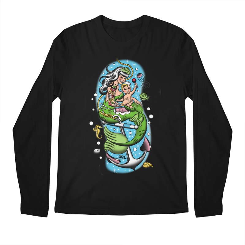 Sailor Jerry Men's Longsleeve T-Shirt by Mitch O'Connell