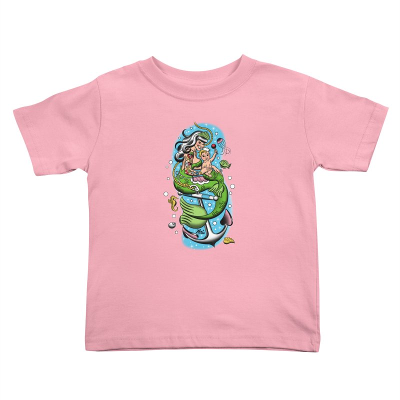 Sailor Jerry Kids Toddler T-Shirt by Mitch O'Connell