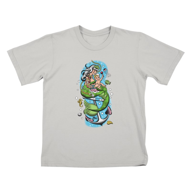 Sailor Jerry Kids T-Shirt by Mitch O'Connell