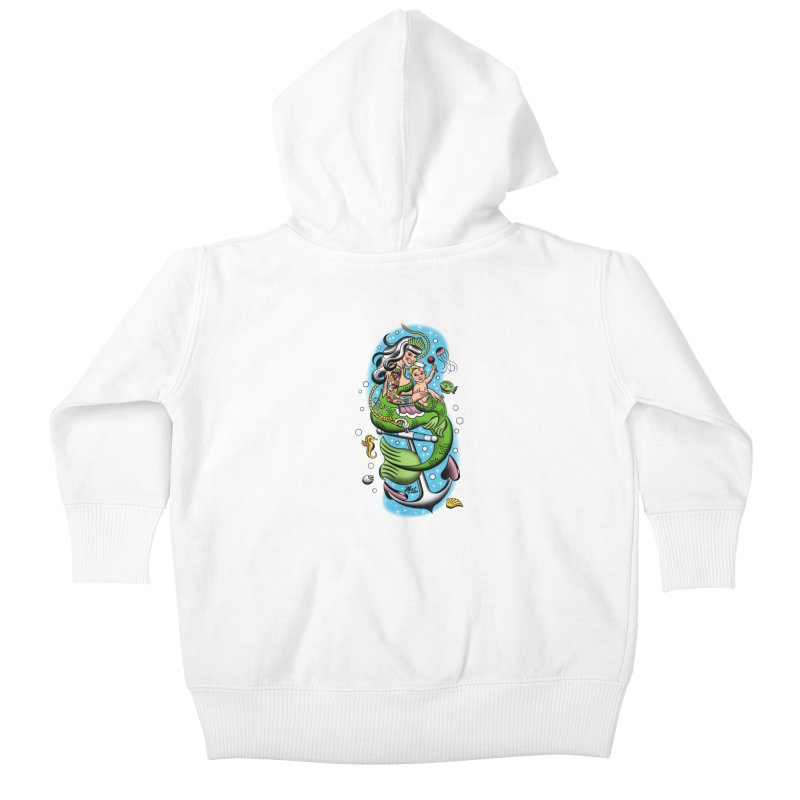 Sailor Jerry Kids Baby Zip-Up Hoody by Mitch O'Connell