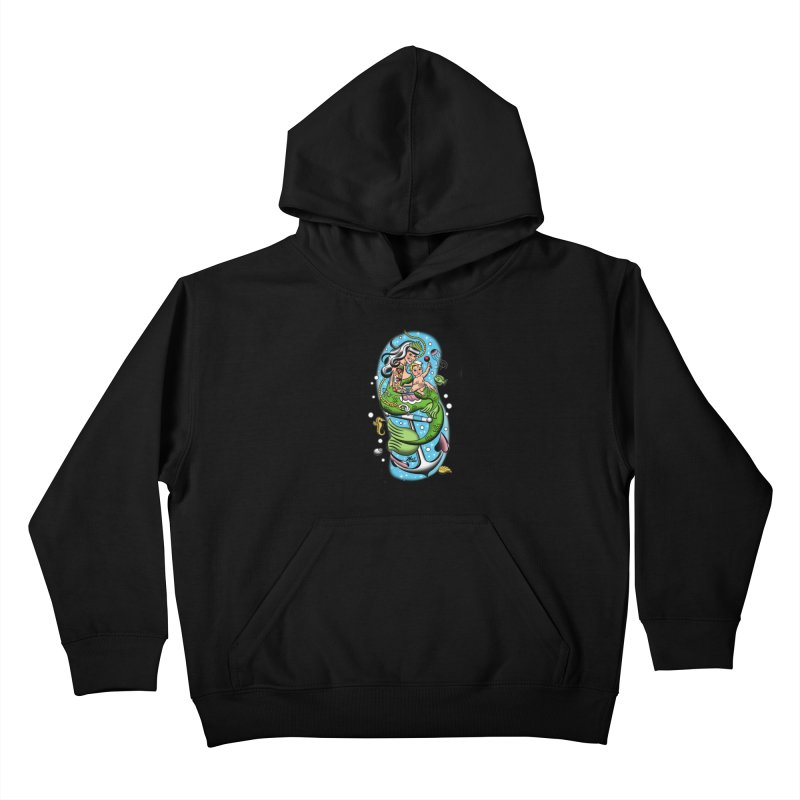 Sailor Jerry Kids Pullover Hoody by Mitch O'Connell