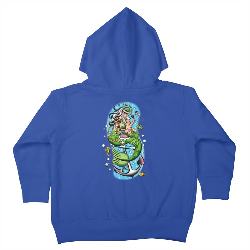 Sailor Jerry Kids Toddler Zip-Up Hoody by Mitch O'Connell