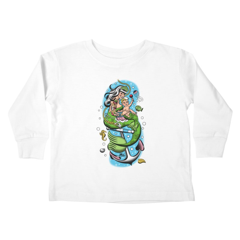 Sailor Jerry Kids Toddler Longsleeve T-Shirt by Mitch O'Connell