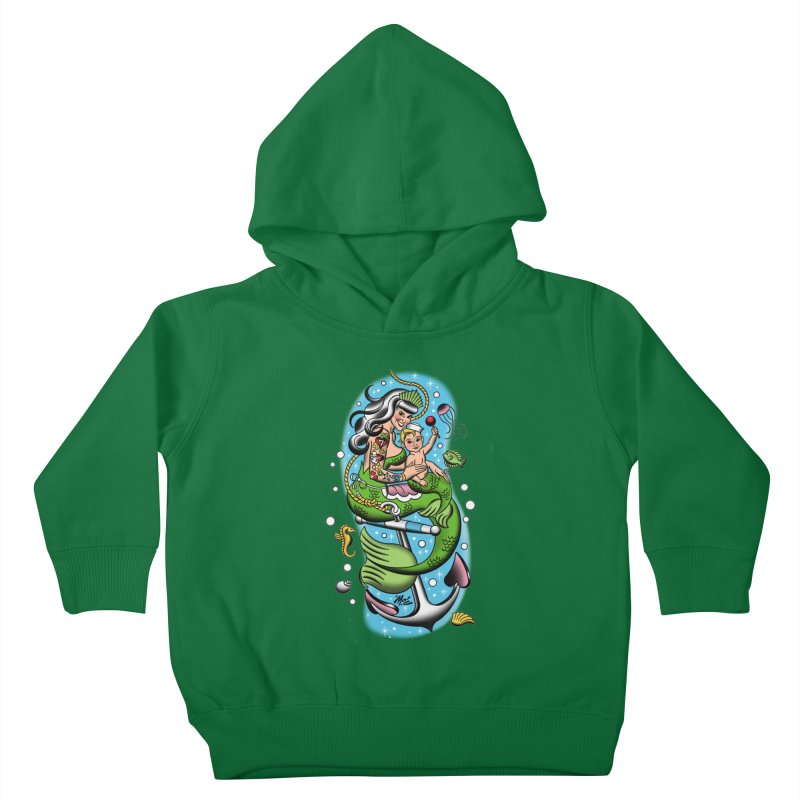 Sailor Jerry Kids Toddler Pullover Hoody by Mitch O'Connell