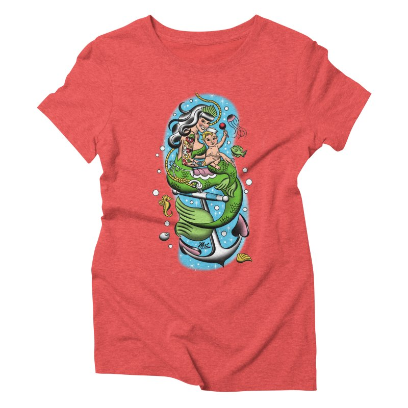 Sailor Jerry Women's Triblend T-Shirt by Mitch O'Connell