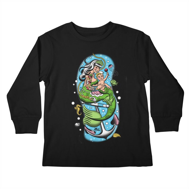 Sailor Jerry Kids Longsleeve T-Shirt by Mitch O'Connell