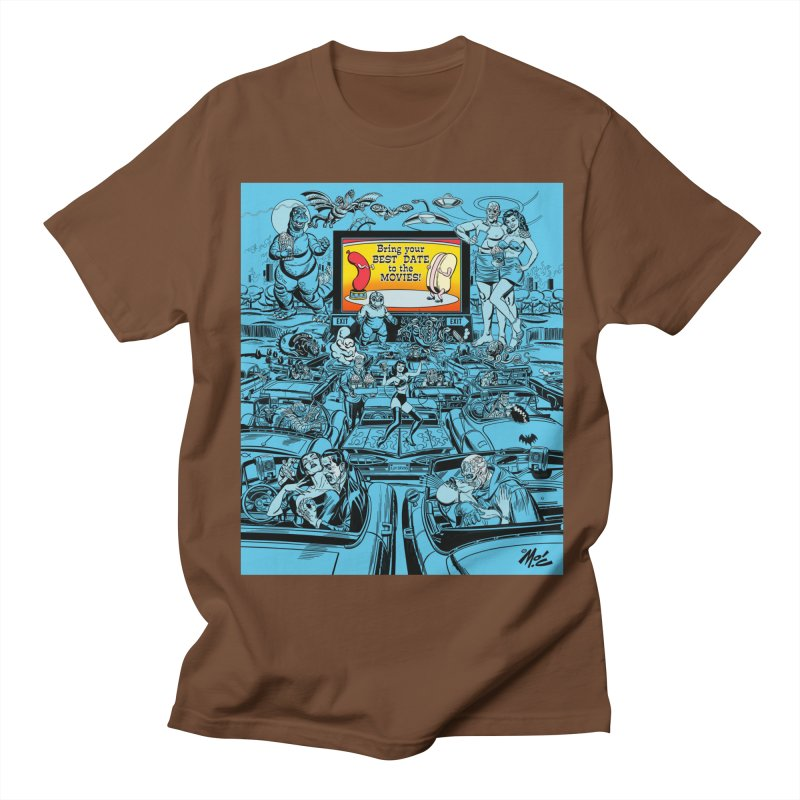 Take Your Best Date to the Movies! Women's Unisex T-Shirt by Mitch O'Connell