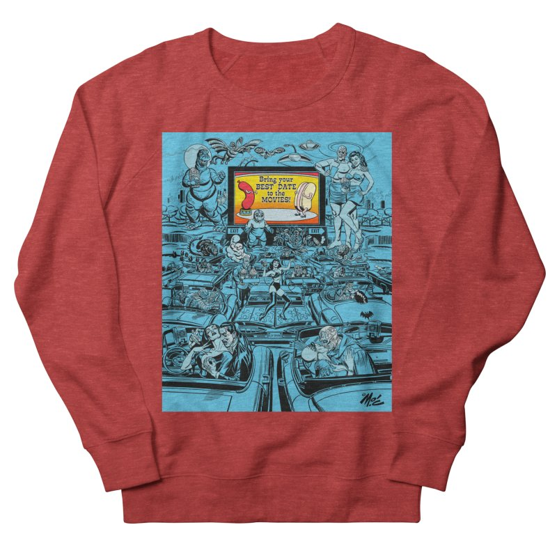 Take Your Best Date to the Movies! Women's Sweatshirt by Mitch O'Connell